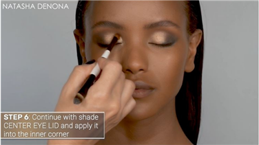 Natasha Denona | How-To Tutorial: Create a Soft-Glam Look using the GLAM EYESHADOW PALETTE
