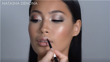 Natasha Denona | How-To Tutorial: Create a Sultry Glam Look using the GLAM EYESHADOW PALETTE
