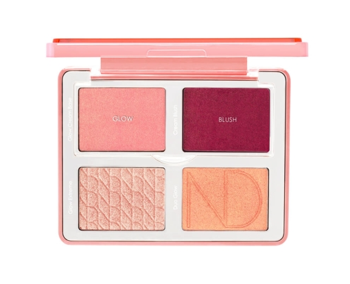 Blush & Brighten Face Palette by the vintage cosmetic company #8